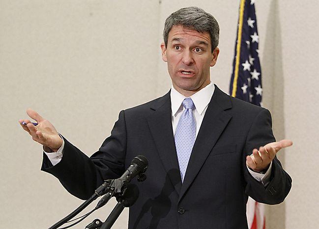 **FILE** Virginia Attorney General Kenneth T. Cuccinelli II AP Photo/Steve Helber)