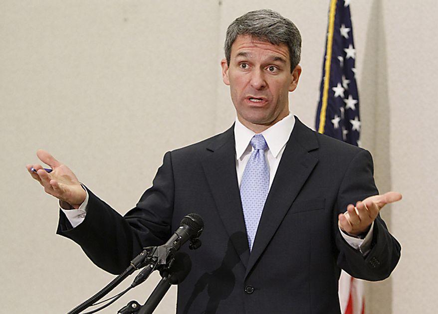 **FILE** Virginia Attorney General Kenneth T. Cuccinelli II AP Photo/Steve Helber)