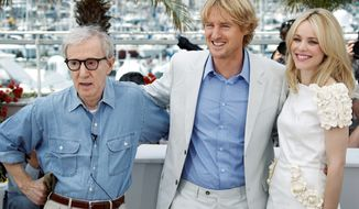 """Midnight in Paris,"" the new film from director Woody Allen (left) and actors Owen Wilson and Rachel McAdams, opened the Cannes Film Festival on Wednesday. Mr. Wilson plays a Hollywood screenwriter and aspiring novelist  in the film."