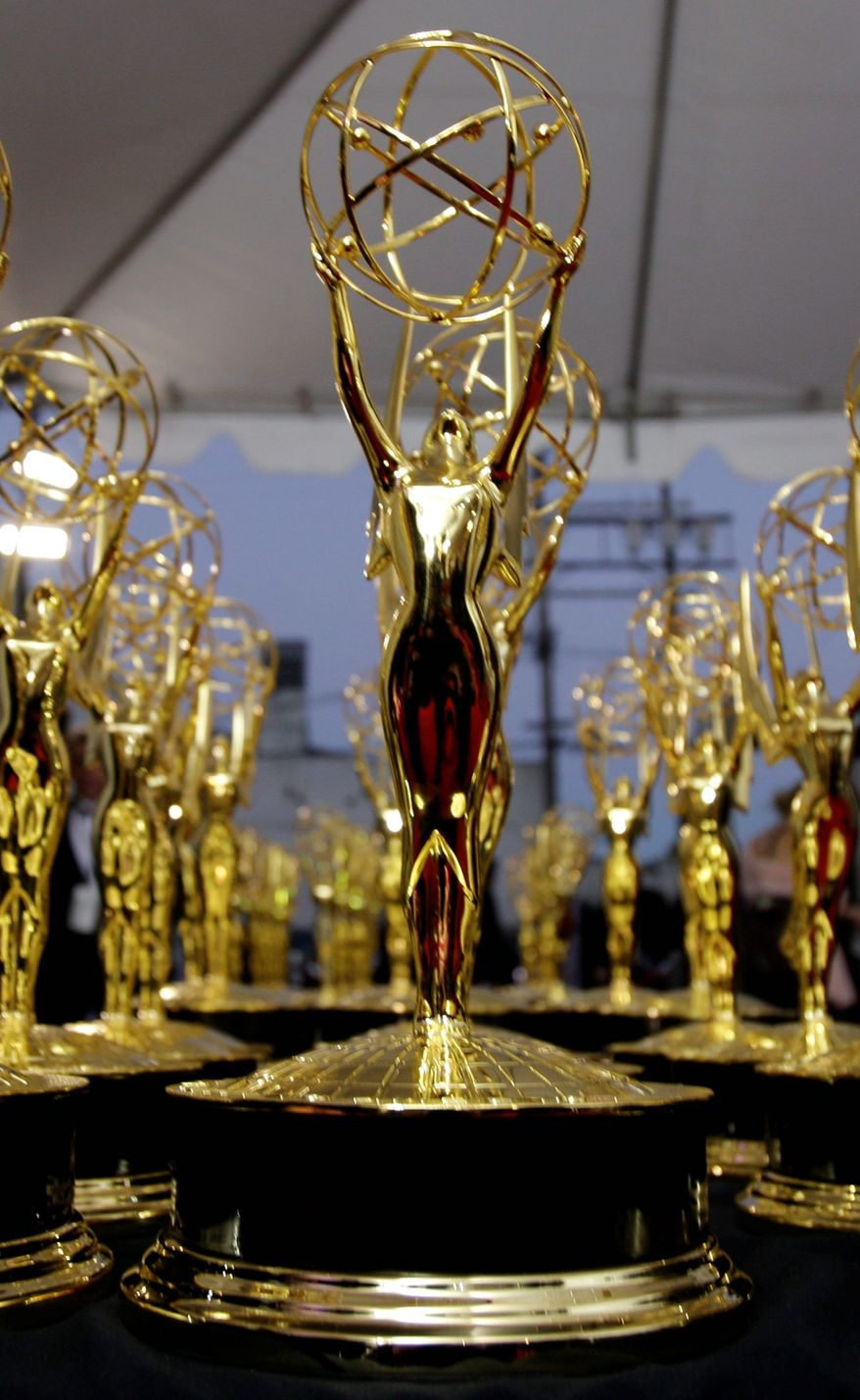 """ASSOCIATED PRESS PHOTOGRAPHS The lineup of contenders for 2011 Emmy trophies includes PBS, with 57 nominations, ABC with 56, """"General Hospital with 21, and """"The Young and the Restless"""" with 20."""