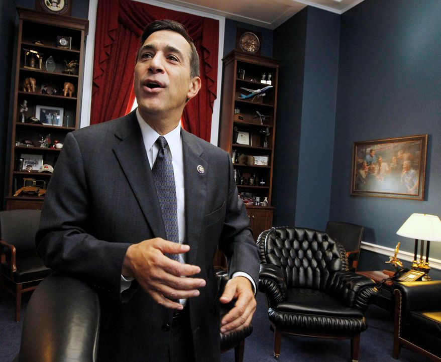 "ASSOCIATED PRESS  Rep. Darrell Issa, California Democrat, said a White House bid to force prospective federal contractors to disclose their political donations smacks of ""Chicago hardball politics"" during a grilling Thursday of White House procurement official Daniel I. Gordon."