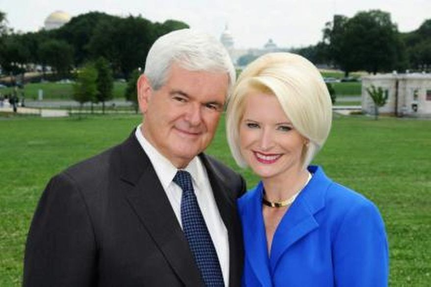 Newt and Callista Gingrich (photo courtesy of Newt2012.com)