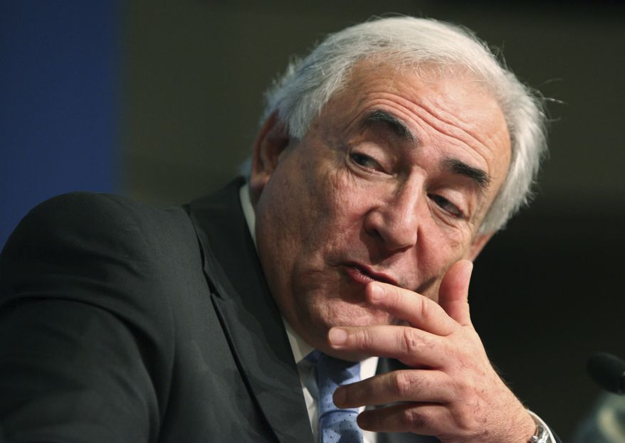 ** FILE **  Former International Monetary Fund Managing Director Dominique Strauss-Kahn. (Associated Press)