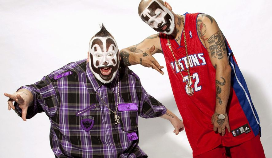 Insane Clown Posse, Violent J and Shaggy 2 Dope, have a moral vision that might surprise casual followers of the group's frequent controversies. (Associated Press)