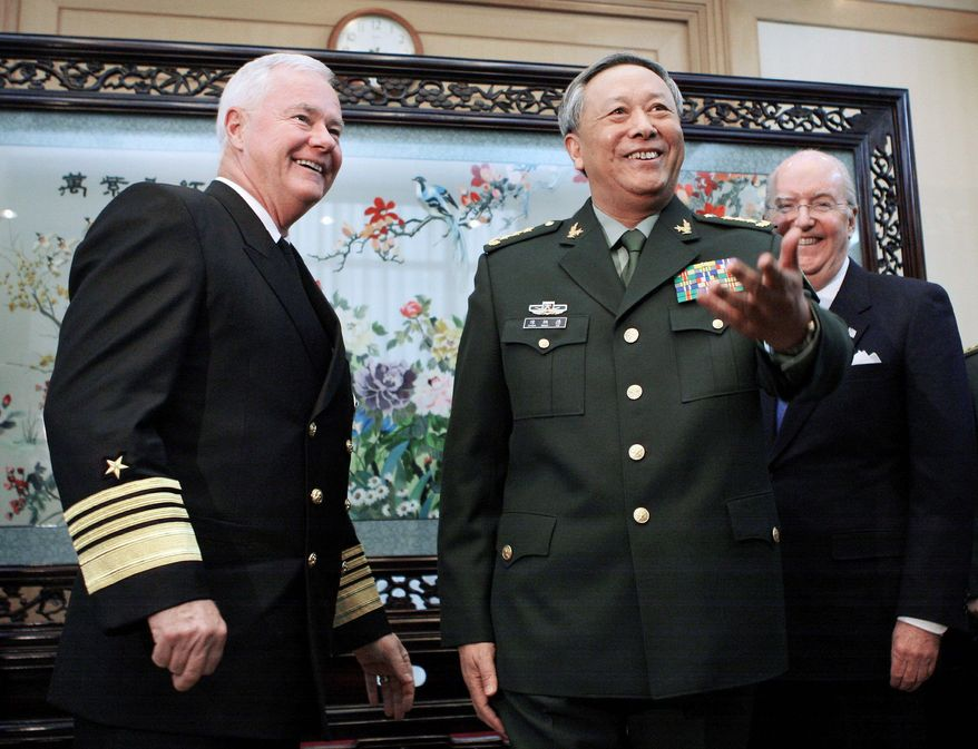 Chinese Gen. Chen Bingde, chief of staff of the People's Liberation Army is scheduled to visit sensitive U.S. military sites. The Pentagon has approved four bases. (Associated Press)