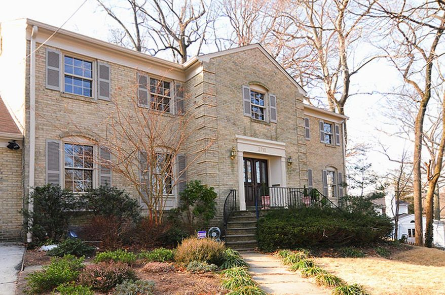 The home at 2710 Daniel Road in Chevy Chase's Ridgewood Village community is on the market for $1,399,000. The home, built in 1969, has six bedrooms, four full baths and two half baths.