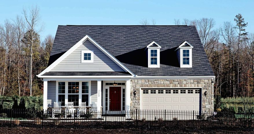K.Hovnanian Homes is building single-family homes at Four Seasons at New Kent Vineyards in New Kent County, Va. The Berry Hill model has 2,320 square feet and is priced from $274,990.