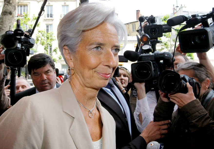 France's Finance Minister Christine Lagarde has, in recent days, been touted in many European capitals as a good choice to replace former IMF chief Dominique Strauss-Kahn. (Associated Press)