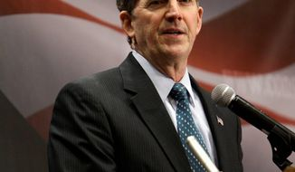 U.S. Sen. Jim DeMint, South Carolina Republican, criticizes Democrats and the NLRB for siding with Boeing unions in a labor grievance about locating an aircraft plant in South Carolina. (Associated Press)