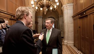 ASSOCIATED PRESS Senate Budget Committee Chairman Kent Conrad