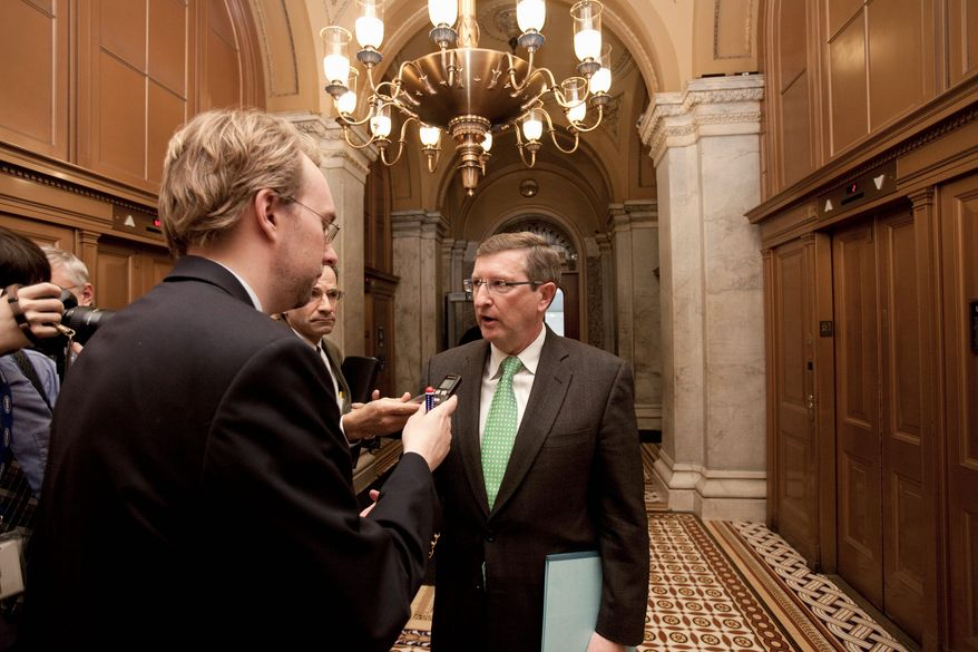 ASSOCIATED PRESS Senate Budget Committee Chairman Kent Conrad