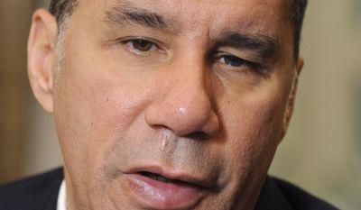 Former New York Gov. David Paterson (AP Photo/Tim Roske, File)