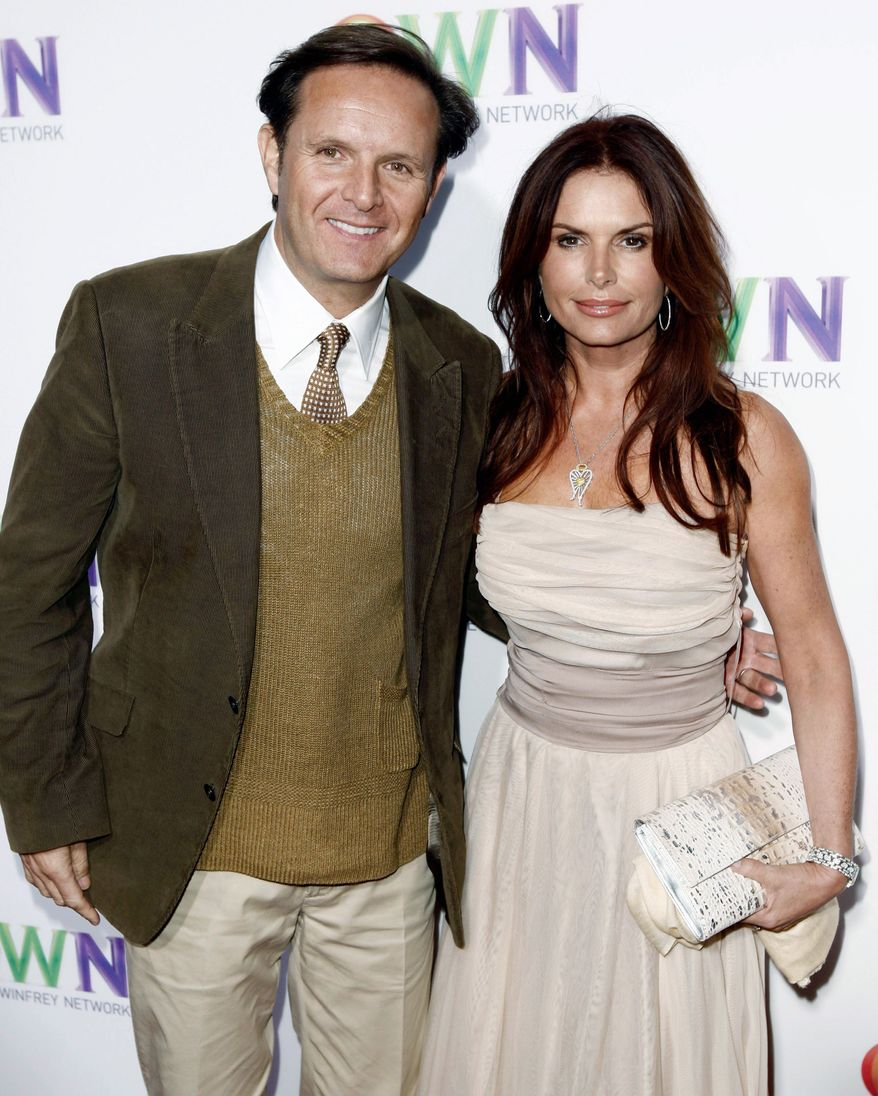 """Mark Burnett and his wife, actress Roma Downey, are producing the 10-part docudrama """"The Bible"""" for the History Channel. The series combines live action with computer-generated imagery. (Associated Press)"""