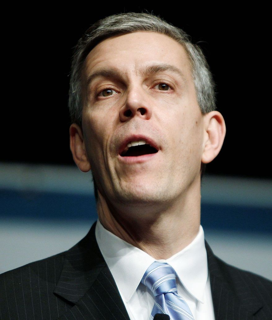 Secretary of Education Arne Duncan is set to open a third round of Race to the Top education grants Wednesday. (Associated Press)
