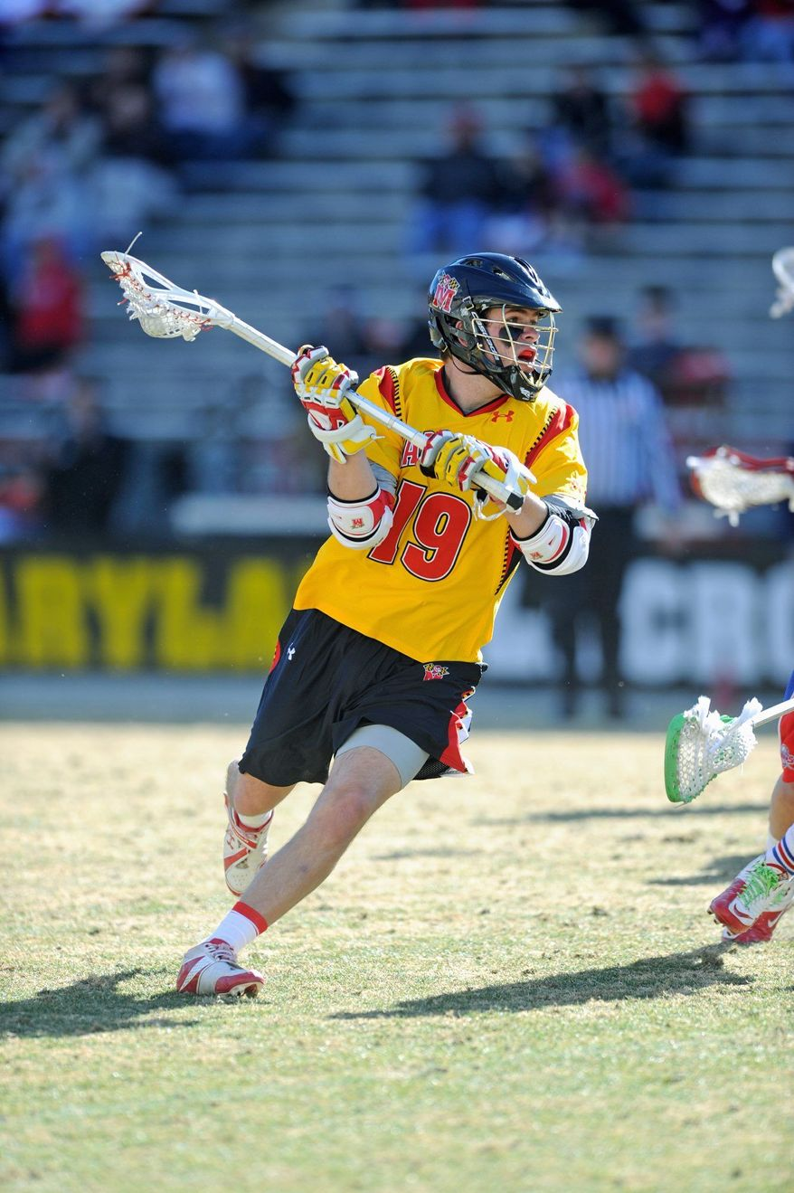 Joe Cummings figures to be the focal point of the team's offense this season. (Maryland Athletics)