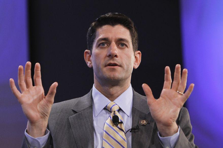 Rep. Paul Ryan, Wisconsin Republican (Associated Press)