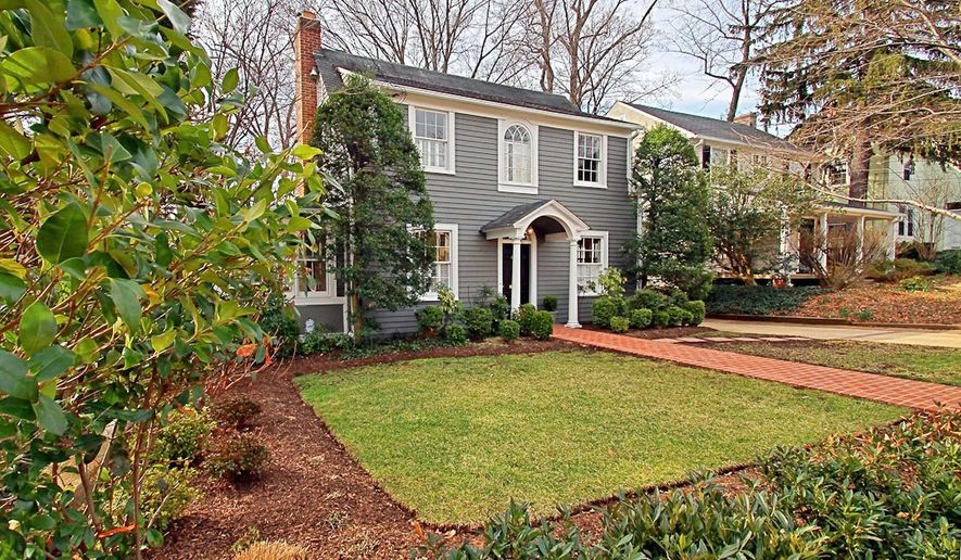 The home at 4512 Lowell St. NW is on the market for $1,395,000. The traditional cottage, built in 1925, has a three-story addition on the back. The home has five bedrooms, three full baths and a powder room.