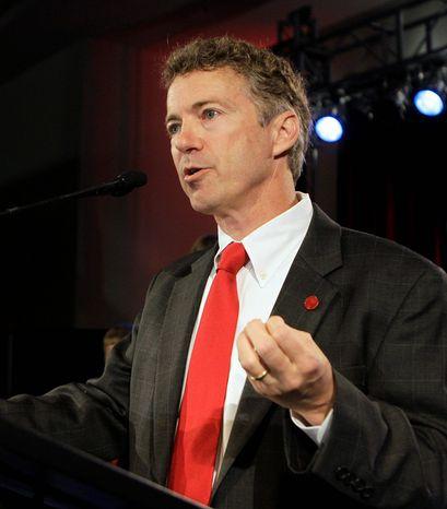 ** FILE ** Sen. Rand Paul, Kentucky Republican (Associated Press)