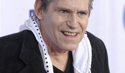 """In this Oct. 13, 2009 file photo, Jeff Conaway arrives at the 2009 Fox Reality Channel Really Awards in Los Angeles. Conaway, who starred in """"Taxi"""" and played Danny Zuko's buddy Kenickie in 1978's """"Grease,"""" has died at a Los Angeles area hospital. He was 60. (AP Photo/Chris Pizzello, File)"""