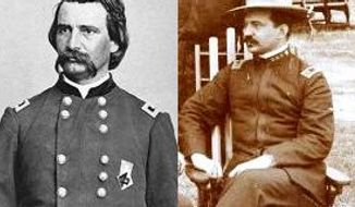 "Major General John Alexander ""Blackjack"" Logan, and his son Major John Alexander Logan, Jr."
