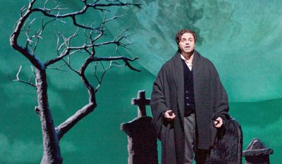 """ASSOCIATED PRESS Joseph Calleja, performing as Egardo during a dress rehearsal of Donizetti's """"Lucia di Lammermoor"""" this year, and Anna Netrebko decided just days before a scheduled Metropolitan Opera tour of Japan that they would not make the trip, citing safety concerns."""