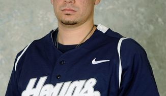 Georgetown's Erick Fernandez, catcher, was selected in the 25th round of the MLB draft by the Washington Nationals. (Georgetown Athletics)