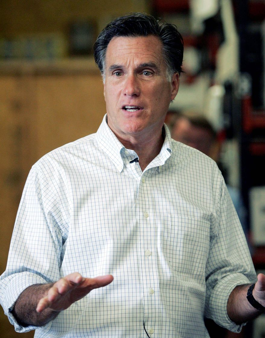 ASSOCIATED PRESS For former Massachusetts Gov. Mitt Romney, neighboring New Hampshire could make or break his GOP presidential campaign, which kicks off Thursday.