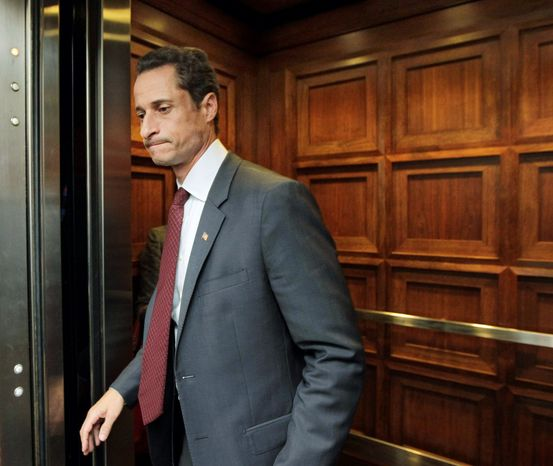 "ASSOCIATED PRESS NOW MESSAGING: ""I didn't send that picture out,"" said Rep. Anthony D. Weiner, referring to a lewd photo on Twitter."
