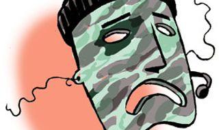 Illustration: SEAL mask by Alexander Hunter for The Washington Times