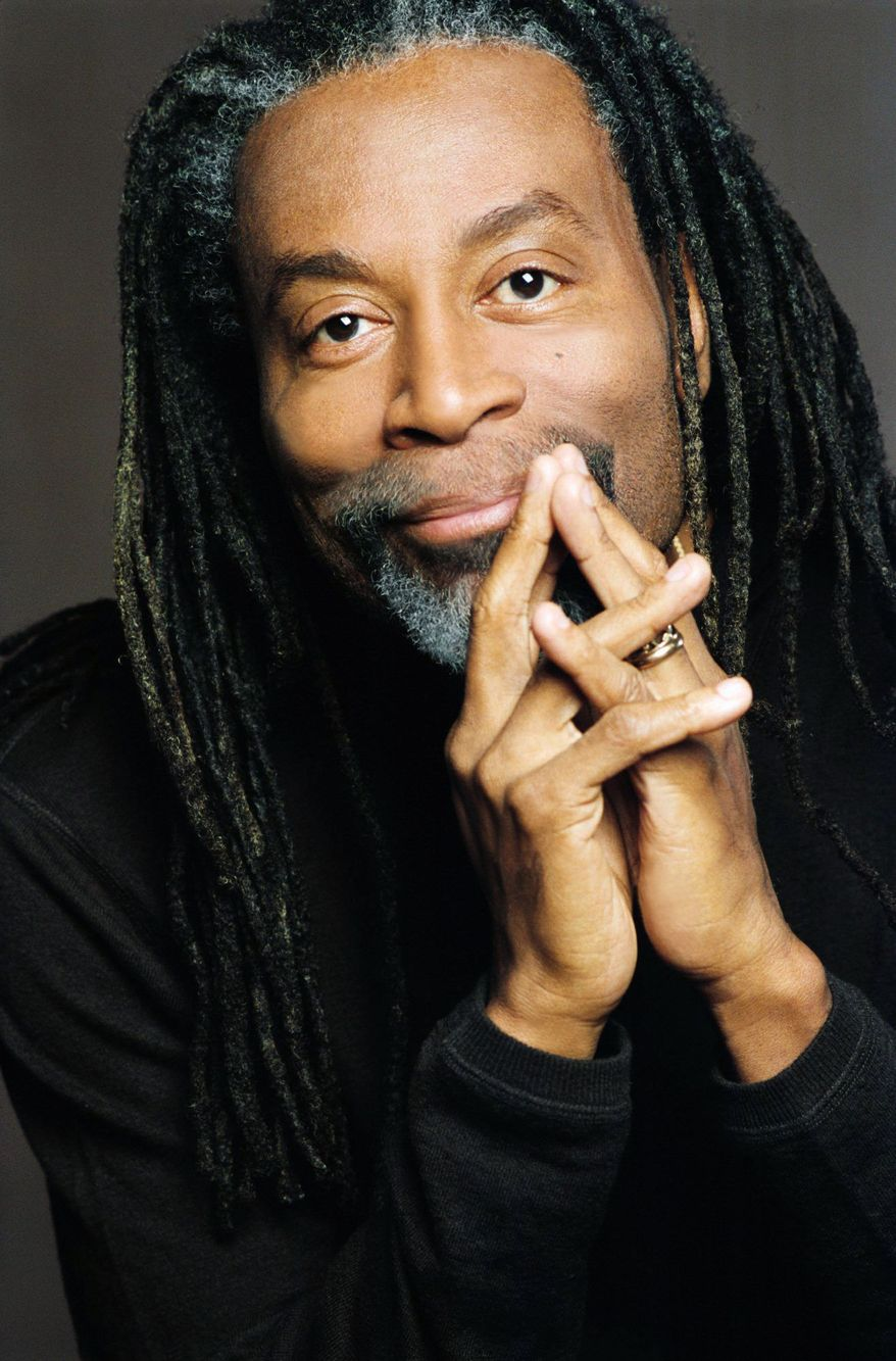 """Photographs provided by the DC Jazz Festival Bobby McFerrin will showcase his vocal """"gymnastics"""" June 11 at the Warner Theatre with Howard University's Afro Blue Reunion Choir."""