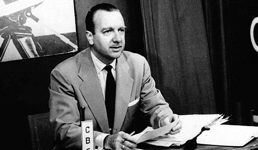 This July 1, 1952 file photo provided by CBS shows TV Washington newsman Walter Cronkite. (Photo: Associated Press)