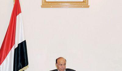 Yemeni Vice President Abed Rabbo Mansour Hadi said Monday that President Saleh, in Saudi Arabia for medical treatment, would return soon. (Associated Press)