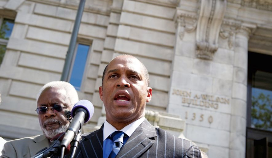 The city government has accused D.C. Council member Harry Thomas Jr. of using grant money and donations for trips and expenditures. (Rod Lamkey Jr./The Washington Times)