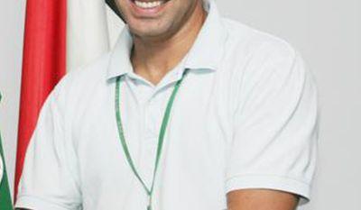 Aziz Nouhaili is pictured at Camp Arifjan in Kuwait in 2009. (AP Photo)