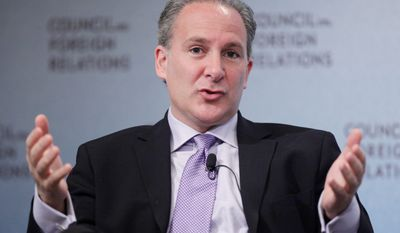 """Do they expect the Chinese to reverse course on their current policy and start heavily buying U.S. debt once again?"" asked Peter Schiff, president of Euro Pacific Capital. ""That seems extremely unlikely."" (Associated Press)"