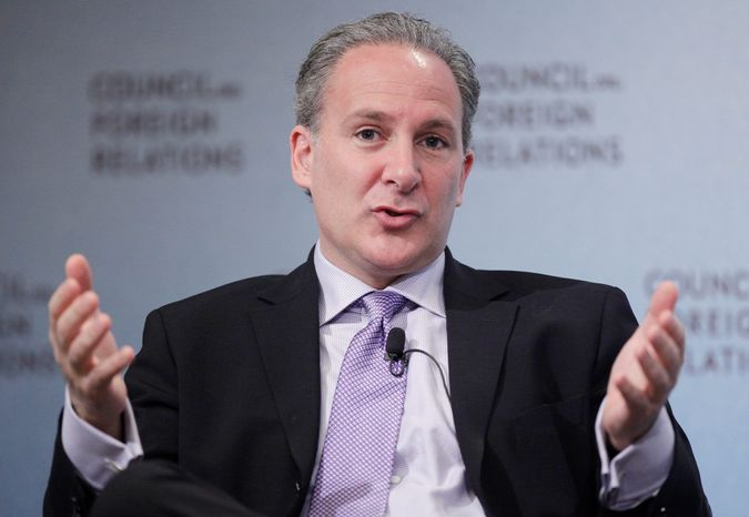 """""""Do they expect the Chinese to reverse course on their current policy and start heavily buying U.S. debt once again?"""" asked Peter Schiff, president of Euro Pacific Capital. """"That seems extremely unlikely."""" (Associated Press)"""