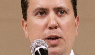 ** FILE ** Rep. Dan Boren, Oklahoma Democrat (AP Photo, File)