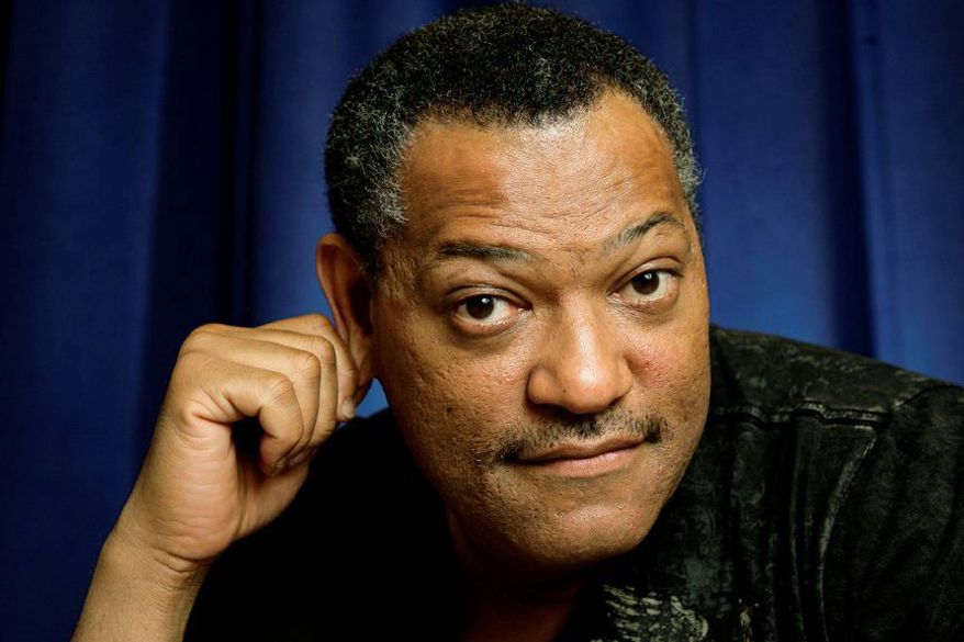 "Laurence Fishburne is leaving his role as Dr. Raymond Langston on ""CSI: Crime Scene Investigation."" (Associated Press)"