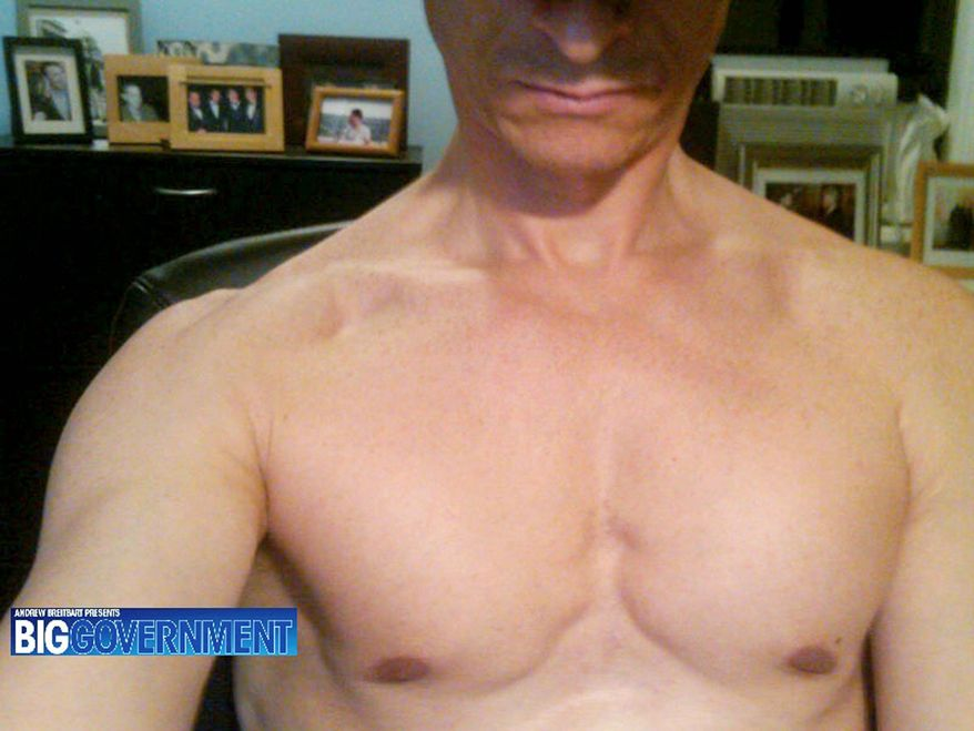 BigGovernment.com posted this photo that purports to show Rep. Anthony D. Weiner shirtless. A woman said she received shirtless shots of the New York congressman. (BigGovernment.com)