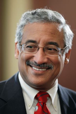 "The district represented by Rep. Robert C. ""Bobby"" Scott, Virginia Democrat, could lose black voters in the state Senate's redistricting plan."