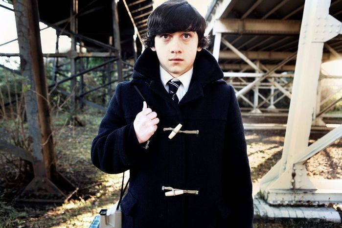 "Craig Roberts portrays Oliver Tate in ""Submarine,"" actor Richard Ayoade's first feature film which dwells on the less likable aspects of its hero's young life. (Associated Press)"