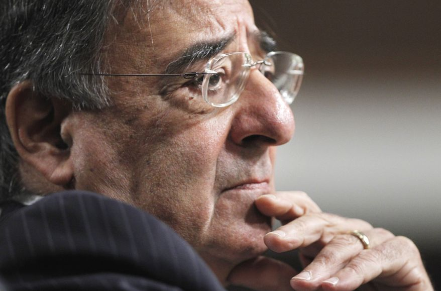 CIA Director Leon Panetta testifies June 9, 2011, on Capitol Hill before the Senate Armed Service Committee hearing on his nomination. (Associated Press)