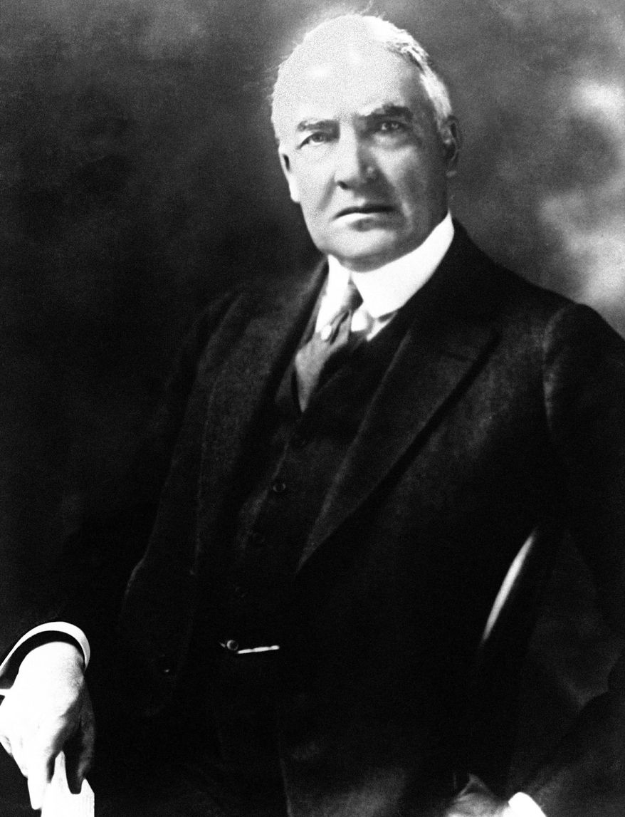 Warren G. Harding.