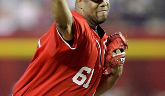 Washington Nationals' pitcher Livan Hernandez has links to drug kingpin Angel Ayala-Vazquez and his associates, court documents in Puerto Rico show. (Associated Press)