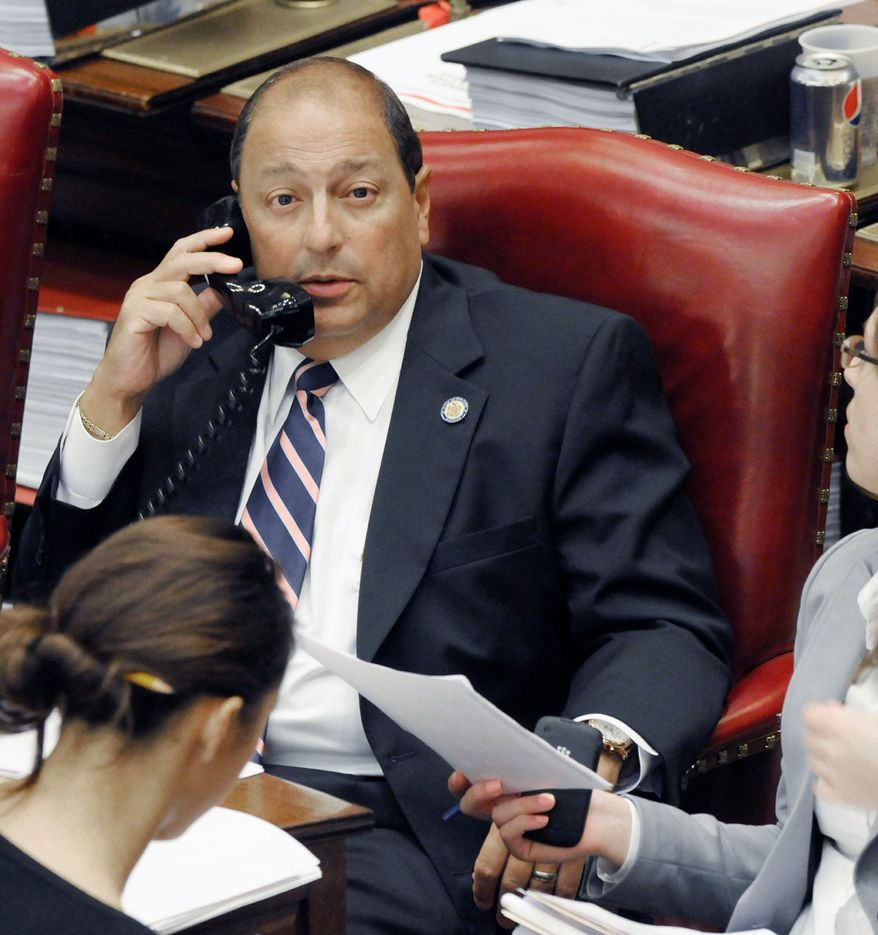 New York state Sen. Thomas Libous is part of the critical bloc of Senate Republicans who helped defeat a gay marriage bill two years ago. Democrats' all-out lobbying effort hopes to turn the tide this year. (Associated Press)