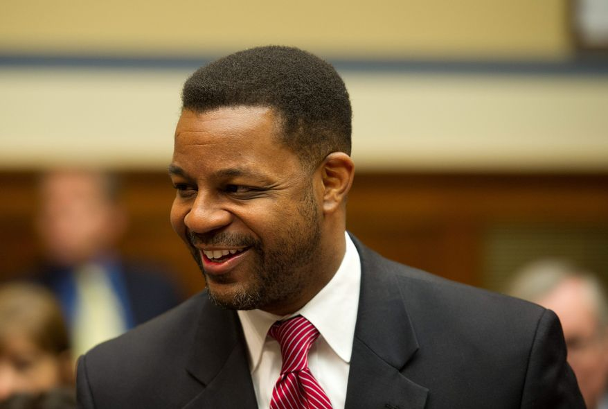 D.C. Council Chairman Kwame R. Brown's budget plan, passed Tuesday, restored funding to services for the homeless. (Rod Lamkey Jr./The Washington Times)