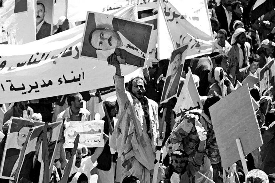 Illustration: Arab Spring