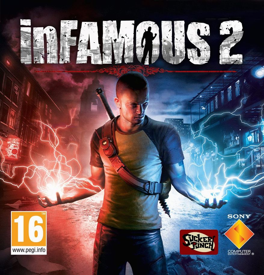 The electrifying life of Cole MacGrath continues in inFamous2, a third-person adventure game exclusive to the PS3 that is loaded with free-roaming action.