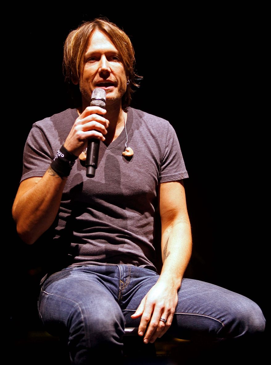 """<b>ASSOCIATED PRESS </b>Keith Urban talks about his Get Closer Tour in Nashville, Tenn. """"I'm just trying to make sure that everybody, no matter where they're sitting, feels connected to what we're doing,""""  he said."""