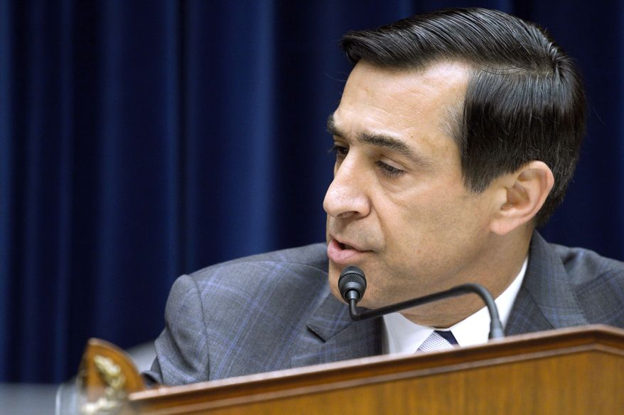ASSOCIATED PRESS Rep. Darrell Issa, California Republican and chairman of the House Oversight and Government Reform Committee, heard testimony Wednesday from ATF agents about their frustrations with now-halted Fast and Furious operation.